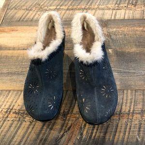 Jambu Sport Wedge Faux Fur Lined Clogs